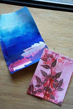gelatin printing Pinned by Sara Egan Gelli Printing, Printing Press, Gelli Arts, Art Activities For Kids, Stamp Making, Vintage Artwork, Teaching Art, Botanical Prints, Art Lessons