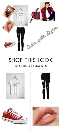 """""""#WolfyAndDylan"""" by ethan-s-queen on Polyvore featuring Miss Selfridge and Converse"""