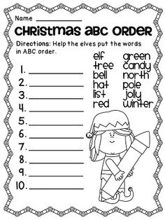 1000+ images about Special holiday worksheets on Pinterest ...