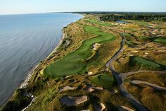 Whistling Straits by Pete Dye, too many bunkers to count!