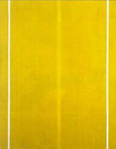 Barnett Newman ,Las obras que enfatizan el fondo o una condición ambigua en la cual lafigura está casi completamente sumergida en el fondo, expresa el deseo del ego de disolversedentro de un tipo de ser más generalizado (ego mundo -dionisiaco)