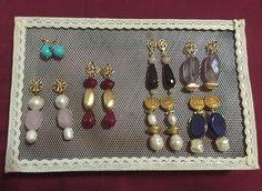 Pendientes petites Sansab!!!!! Búscanos en Facebook y en Instagram #invitadas #bodas #petitesansab #flamenca #pendientes
