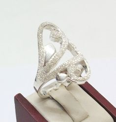 Silberring+925+mit+Glitzer+SR147+von+Atelier+Regina++auf+DaWanda.com