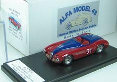 Alfa Romeo 412 Spyder Vignale - G.P. Portogallo 1951 - Felice Bonetto - Alfa Model 43
