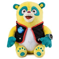 Special Agent Oso plush doll! My son loves this show. Gotta get it for him! Disney Store!