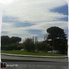 #sognando nel #traffico di #ognigiorno #myrimini  #raccontarimini #everydaylife #street #traffic #streetrimini #dream #sky #regram di @crky2178