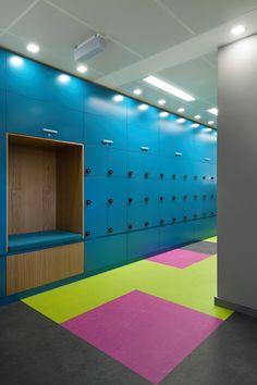 Inside Skyscanner's Cool Sofia Office   flooring     design      moderndesign   http://www.ironageoffice.com/