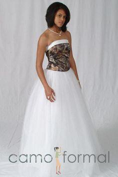 Amazing camoflauge bridesmaid dresses camouflage wedding dresses pictures