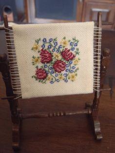 Dollhouse Miniature Vintage  Handmade Rose by Pinkflamingo66, $20.00