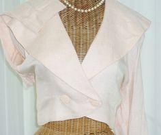 Bolero Shrug Jacket by Francine Browner by Voilavintagelingerie