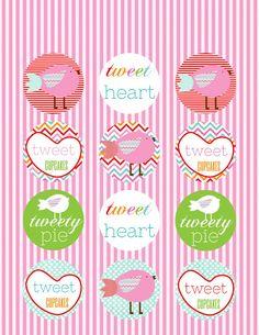 Party Box Design: FREE Valentine's Day Printables!