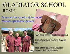 Gladiator School, Rome http://www.fincafantastica.biz/rome-attractions