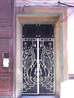 Doorway, Casablanca, Morocco