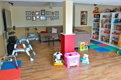 home daycare basement - Google Search