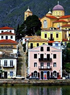 Travel Inspiration for Greece - Galaxidi, Greece