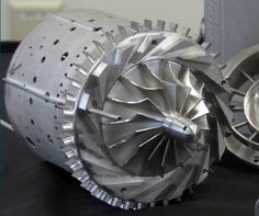 GE Additive are known for their metal printing advancements, creating various engines and spinning parts such as the TurboProp, this Mini Jet Engine was entirely produced with printing back in Mini Jet Engine, Jet Engine Parts, Turbine Engine, Gas Turbine, Impression 3d, Hybrid Trucks, Mechanical Power, Automotive Engineering, Jumbo Jet