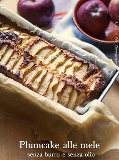 Plumcake alle melericetta light  senza burro e senza olio
