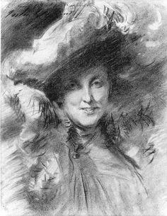 John Singer Sargent - Mrs. Charles Hunter