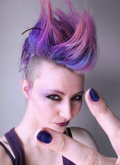 punk hair**