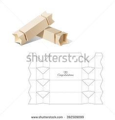 Candy Box with Blueprint Template