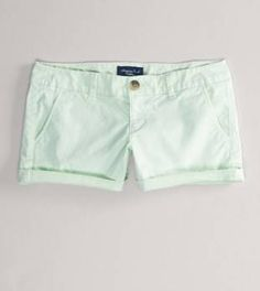 i LOVE my new pair of mint shorts for the summer <3 Can't wait to wear them!!