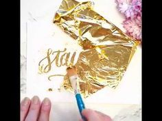 How To Use Gold Foil To Create Greeting Cards & Invitations ~ Creative Market Blog
