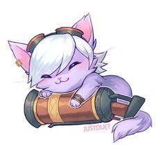 Tristana kitty By: JustDuet