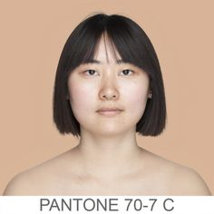 lots of different faces on this site, each matched to a pantone color