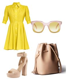 """""""Work wear 5"""" by xeebae on Polyvore featuring I'm Isola Marras, Stuart Weitzman and Marc by Marc Jacobs"""