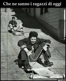 "canadianbeerandpostmodernism: "" Skate coasters, North Beach, San Francisco, by Fred Lyon. Goldscheider, Old Pictures, Old Photos, Lago Powell, Photographic Film, North Beach, Vintage Italian, Vintage Photographs, Black And White Photography"