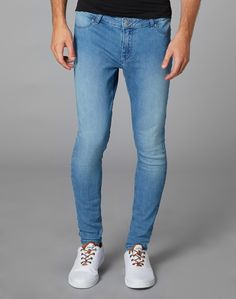 Cheap monday light blue skinny jeans mens – Global fashion jeans