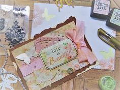 HandmadebyRenuka: 1kit and 10 more cards with LFL March 2017 card kit Intermediate level