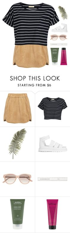 """insatiably insane, equally exchanged"" by kristen-gregory-sexy-sports-babe ❤ liked on Polyvore featuring Marissa Webb, Brave Soul, Dr. Martens, Witchery, Aveda and philosophy"