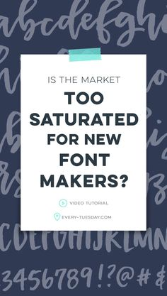 I'm often asked if I think the market is too saturated for new font makers. The fact the font making market is booming should not hold you back from starting; Cool Fonts, New Fonts, Google Font Pairings, Letter Practice Sheets, Font Maker, Professional Fonts, Letter A Crafts, Lettering Styles, Lettering Tutorial