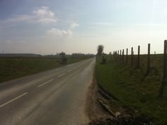 The road to Guillemont today.