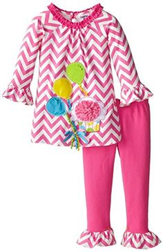 Rare Editions Baby Girls Chevron Printed Balloon Set 18M PinkWhite *** Continue to the product at the image link.