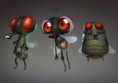 There are many kinds of flies. There are the fruit flies that help scientists. There are the butterflies that help pollinate flowers, and then there are the Very Annoying Flies who don't help anyone at all....
