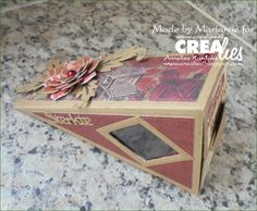 https://www.crealies.nl/detail/1546551/16-05-06-marianne-a.htm &  http://crealies.blogspot.se/2016/05/doosjes.html  Crealies items: Crealies Create A Box stans no. 5 taartpunt Crea-Nest-Lies XXL stansen no. 11 Set of 3 stansen no. 14 Bloemen 10 Duo Dies no. 31 Blaadjes 1 Tekststans no. 4 Sterkte