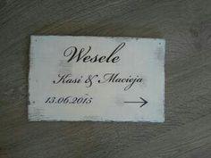 Wedding personalized board www.nattu.pl