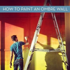 How to Paint an Ombre Wall » Curbly   DIY Design Community