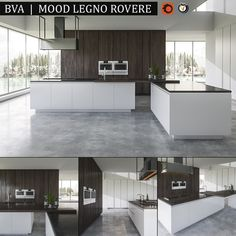 Kitchen BVA Mood Legno Rovere  Render : Vray, Corona  Archives included: materials (mat) Corona, Vray, textures, FBX, scene 3ds Max 2014 Vray and Corona