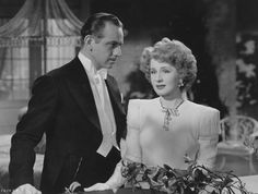 Melvyn Douglas and Norma Shearer in We Were Dancing, 1942 Hollywood Actor, Golden Age Of Hollywood, Classic Hollywood, Melvyn Douglas, Four Movie, Hollywood Jewelry, Norma Shearer, Beauty Contest, Academy Award Winners