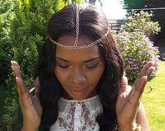 Greek Headpiece, Hair Accessories, Bohemian Head Chain, Wedding Headchain, Heads Chains Jewelry, Bridal, Boho, Best Friend Gift, Coachella