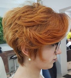 Long Pixie for Thick Hair