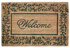 Leaves Doormat