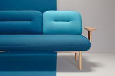 Cosmo. Un sofá sutilemente irregular. La Selva para Missana