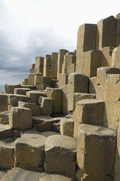 Black Basalt Columns, Giant's Causeway, Northern Ireland.