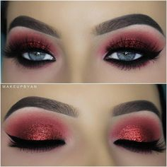 "14.1k Likes, 41 Comments - Formerly MarysMotives (@maryhadalittleglam) on Instagram: ""Perfection #Repost @makeupbyan ・・・ Video on this eyelook now on her #youTube Channel (link in…"""