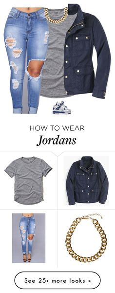 """Untitled #772"" by prettygirlnunu on Polyvore featuring Hollister Co., NIKE, Club Manhattan and J.Crew"