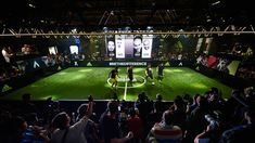 adidas Ace, X and Messi Launch at The Base, Berlin With Zinedine Zidane,...